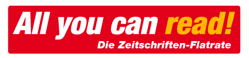 All you can read! - Die Zeitschriften-Flatrate