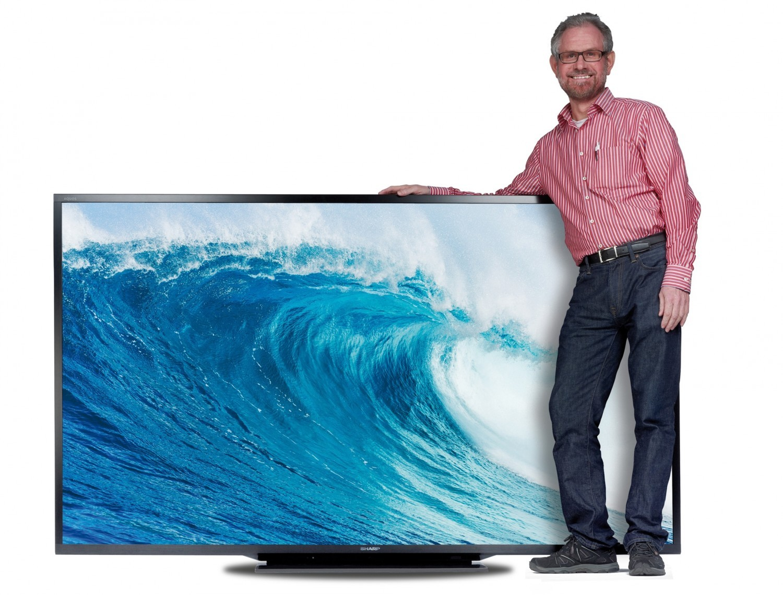 bildergalerie die gr ten fernseher auf bild 1. Black Bedroom Furniture Sets. Home Design Ideas