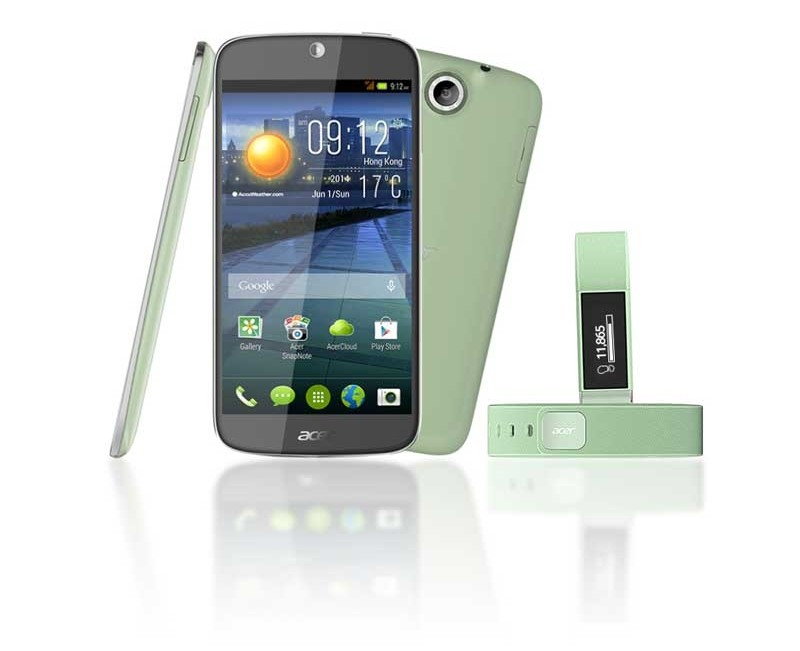 mobile Devices Acer Liquid Jade plus: Ultraflaches Smartphone im Curved-Design - News, Bild 1