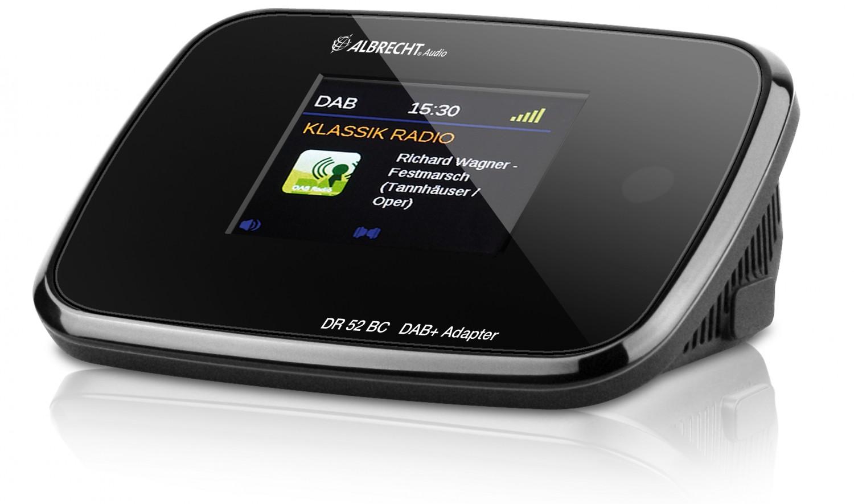 HiFi Mit Display und Bluetooth: Digitalradio-Adapter zum Nachrüsten von Audio Albrecht - News, Bild 1