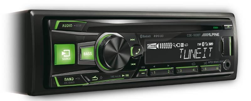 Car-Media Zwei neue CD-Receiver  aus dem Hause Alpine - News, Bild 1