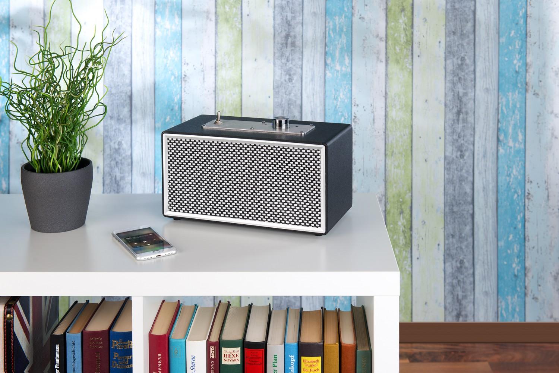 HiFi Bluetooth 4.1 und Akku an Bord: Kompakter portabler Lautsprecher von Auvisio - News, Bild 1
