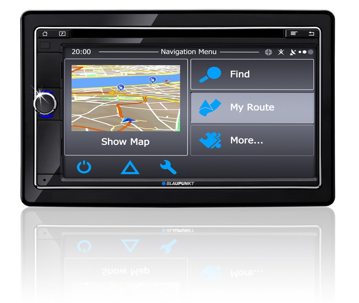 Car-Media Blaupunkt-Autoradio holt Smartphone-Inhalte aufs Display - WiFi-USB-Dongle - News, Bild 1
