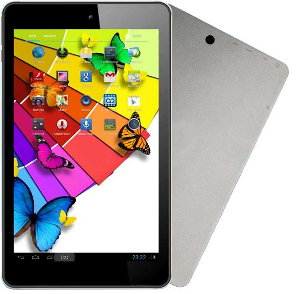 mobile Devices Quad Core Tablet PC in edlem Design und Aluminium Gehäuse - News, Bild 1