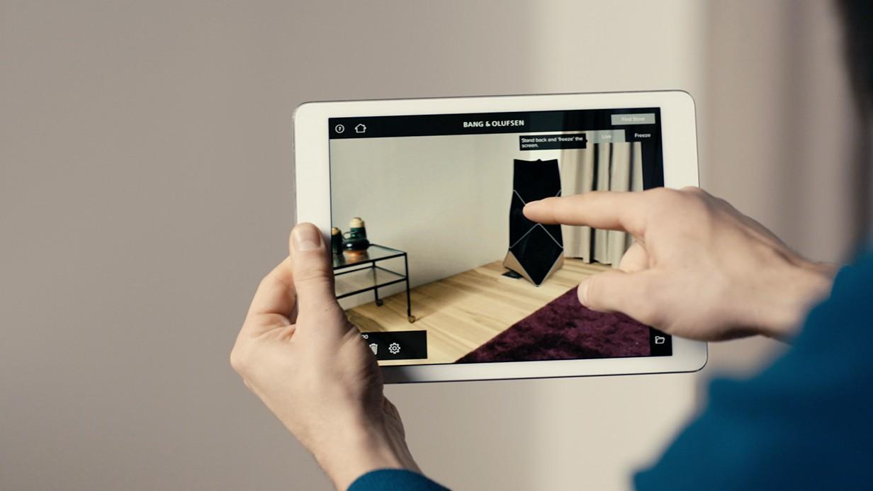 Heimkino Auch Bang & Olufsen erlaubt mittels App virtuelle Platzierung neuer Geräte - News, Bild 1