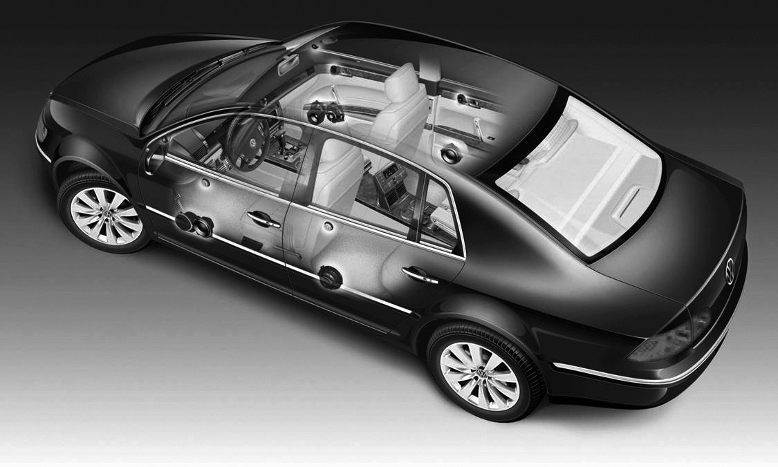 alle vw phaeton f r china werden mit dynaudio soundsystemen ausgeliefert. Black Bedroom Furniture Sets. Home Design Ideas
