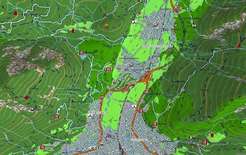 Car-Media Magellan topographische HD-Karten für eXplorist Touch-Geräte nun verfügbar - News, Bild 1