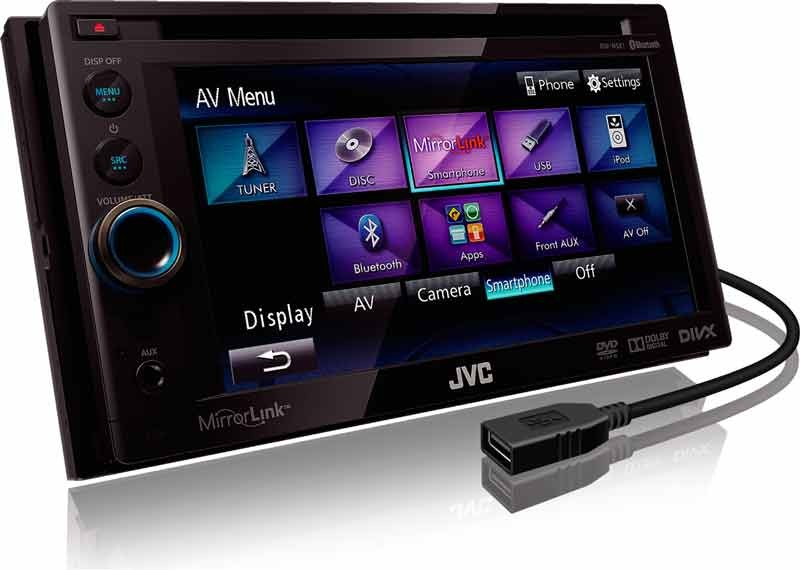Car-Media Neuer Smartphone-Multimedia-Receiver im Doppel-DIN-Format mit genialer MirrorLink-Funktion - News, Bild 1
