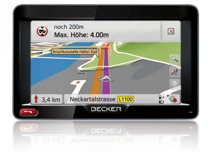 Car-Media Trucker-Navi von Becker - News, Bild 1