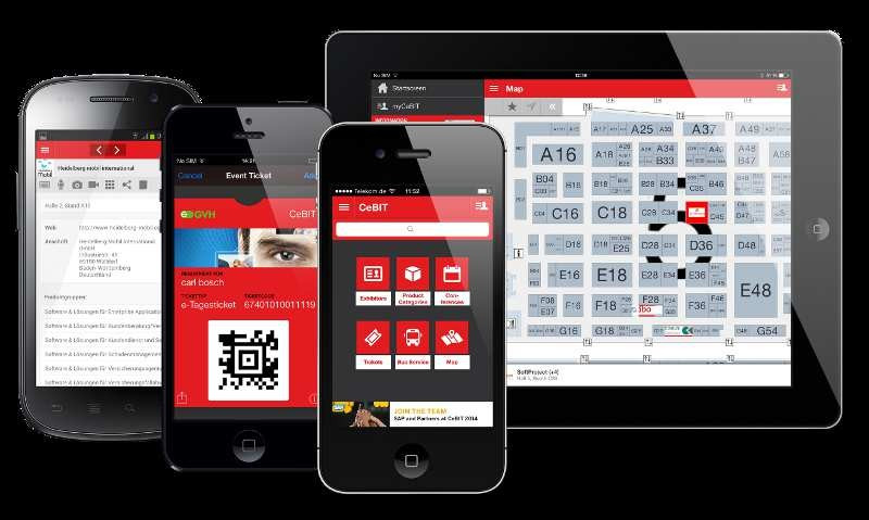 mobile Devices CeBIT Messe-App 2014 ist da! - News, Bild 1