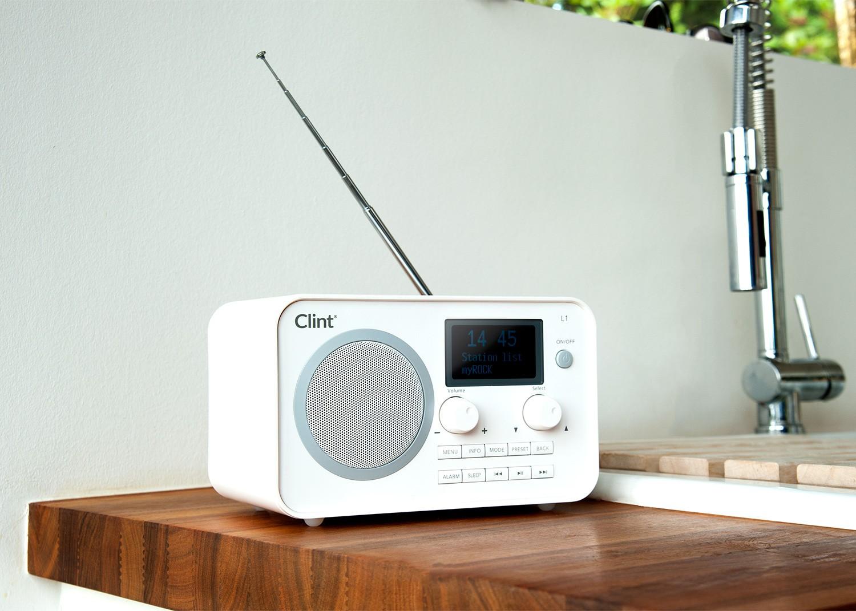 HiFi Digitalradio und Bluetooth: L1 von Clint Digital eignet sich auch zum Musik-Streaming - News, Bild 1