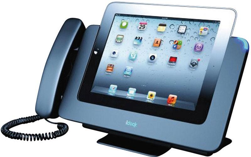 video telefon dockingstation eyedock verwandelt ein tablet zum komfortablen video telefon. Black Bedroom Furniture Sets. Home Design Ideas