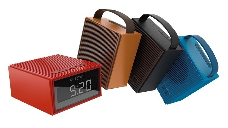 bluetooth lautsprecher creative chrono kommt mit radio. Black Bedroom Furniture Sets. Home Design Ideas