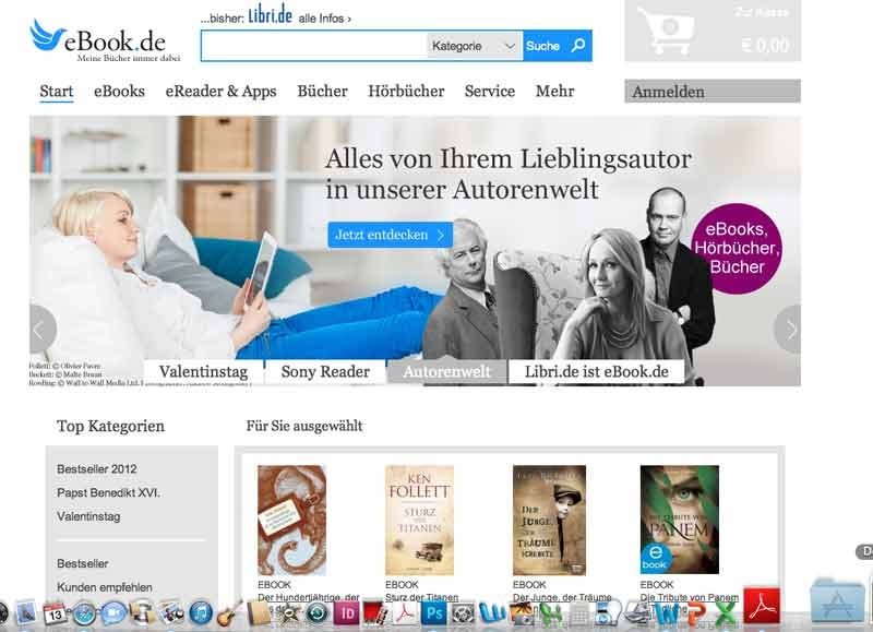 mobile Devices eBook.de ab sofort auf Asus-Endgeräten vorinstalliert - News, Bild 1