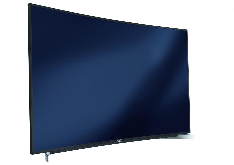 grundig bringt ultra hd fernseher im curved design zum 70. Black Bedroom Furniture Sets. Home Design Ideas
