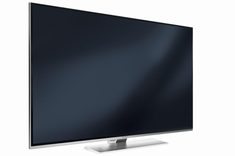 neue uhd fernseher von grundig mit 3 wege stereo sound system bild 1. Black Bedroom Furniture Sets. Home Design Ideas