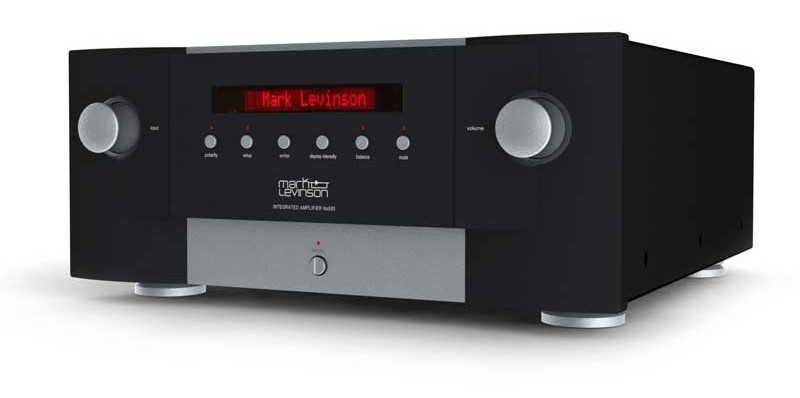 High-End Harmans Luxury Audio Group stellt auf der High End 2014 in München den Mark Levinson No. 585 Vollverstärker vor - News, Bild 1