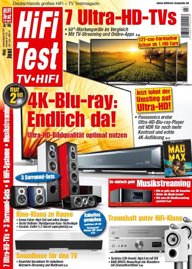 """Heimkino Die Ultra-HD-Blu-ray ist da: Erste exklusive Impressionen in der neuen """"HIFI TEST"""" - News, Bild 1"""