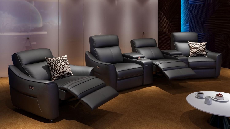 heimkino sofa von sofanella mit relax und usb. Black Bedroom Furniture Sets. Home Design Ideas