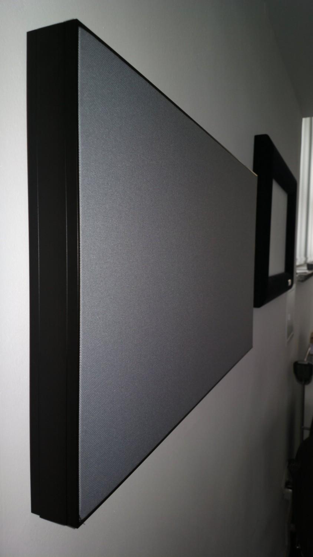 profi leinw nde f r das heimkino randloses design und. Black Bedroom Furniture Sets. Home Design Ideas