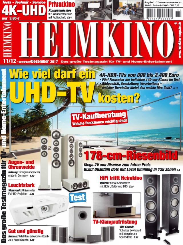 wie viel darf ein uhd tv kosten die antwort gibt s in der neuen heimkino. Black Bedroom Furniture Sets. Home Design Ideas