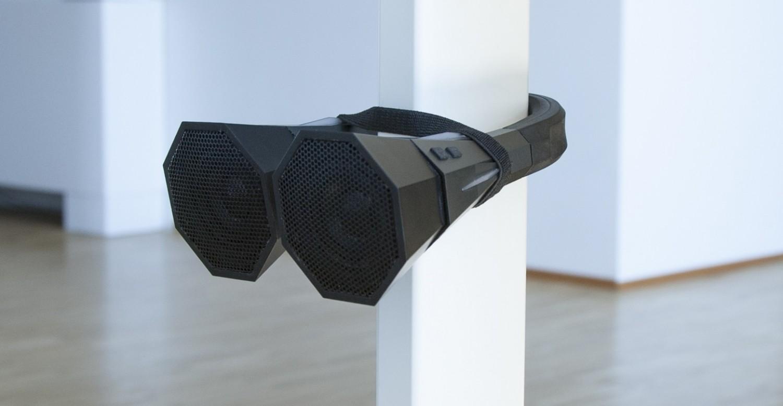 biegbarer lautsprecher f r zu hause und unterwegs bluetooth oder klinke bild 1. Black Bedroom Furniture Sets. Home Design Ideas