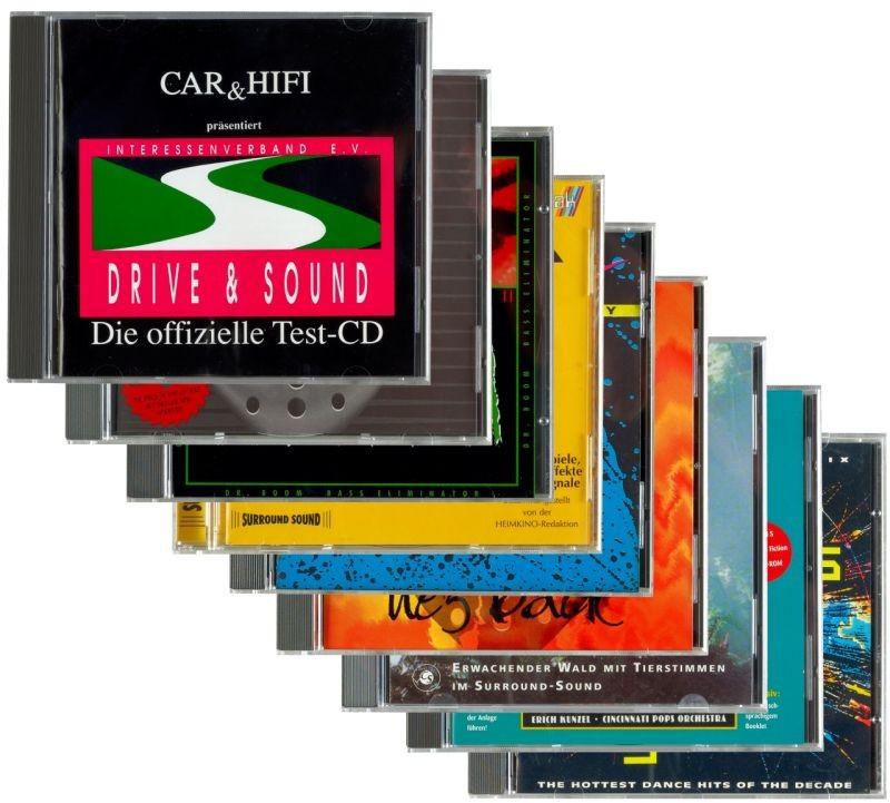 HiFi 8er Super-Set: Klangtest-, Bass- und Soundcheck-CDs - News, Bild 1