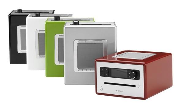 durchdachtes design weck cd musiksystem mit bluetooth und. Black Bedroom Furniture Sets. Home Design Ideas