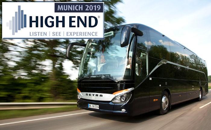 HiFi Fahrt zur High End: Die SG Akustik & Video GmbH reist am 11. Mai nach München - News, Bild 1