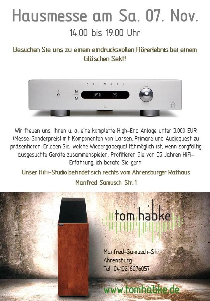 high end anlage f r unter euro hausmesse in. Black Bedroom Furniture Sets. Home Design Ideas