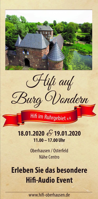"""HiFi Messe """"Hifi im Ruhrgebiet v.4"""" am Wochenende - Seminare, Geräte, Kunst und Musik - News, Bild 1"""