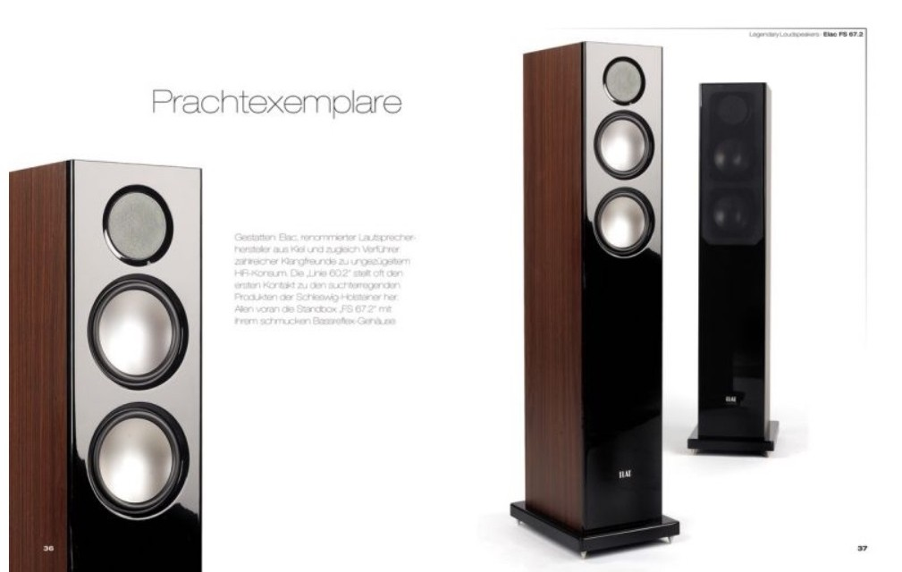pflichtlekt re f r hifi liebhaber legendary loudspeakers. Black Bedroom Furniture Sets. Home Design Ideas
