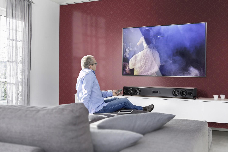 neue heimkino soundbar nubert nupro xs 7500 erstmals auf. Black Bedroom Furniture Sets. Home Design Ideas