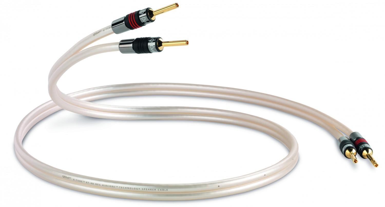 QED mit neuem Lautsprecherkabel - Zwillingsleiter und Polyethylen ...