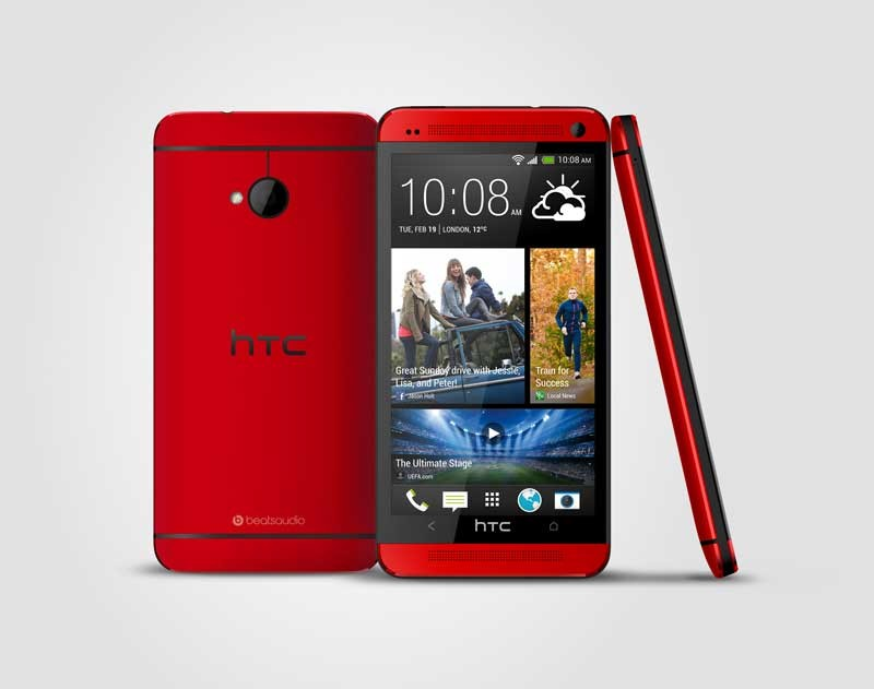 mobile Devices Das HTC ONE jetzt auch in Glamour Red - News, Bild 1
