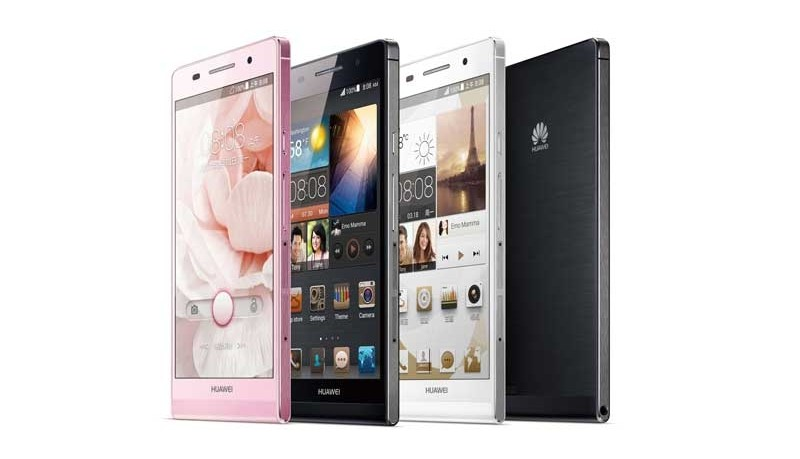 mobile Devices Scharf, schnittig, elegant: HUAWEI Ascend P6 - News, Bild 1