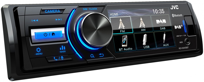 Car-Media Erstes DAB-Autoradio von JVC im DIN-Format mit 3-Zoll-TFT-Farbdisplay - News, Bild 1