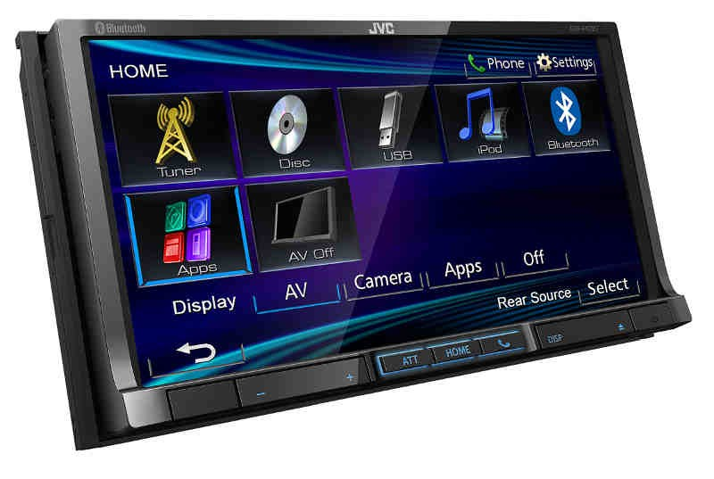 Car-Media Multimedia-Receiver mit 7-WVGA-Touch-Screen-Monitor von JVC - News, Bild 1