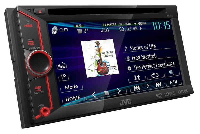 Car-Media Multimedia-Receiver mit innovativem Bedienkonzept von JVC - News, Bild 1