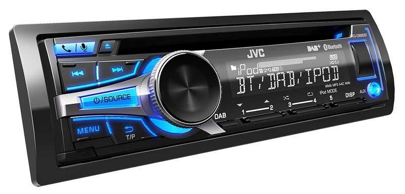 radio in cd qualit t dab receiver mit bluetooth von jvc. Black Bedroom Furniture Sets. Home Design Ideas