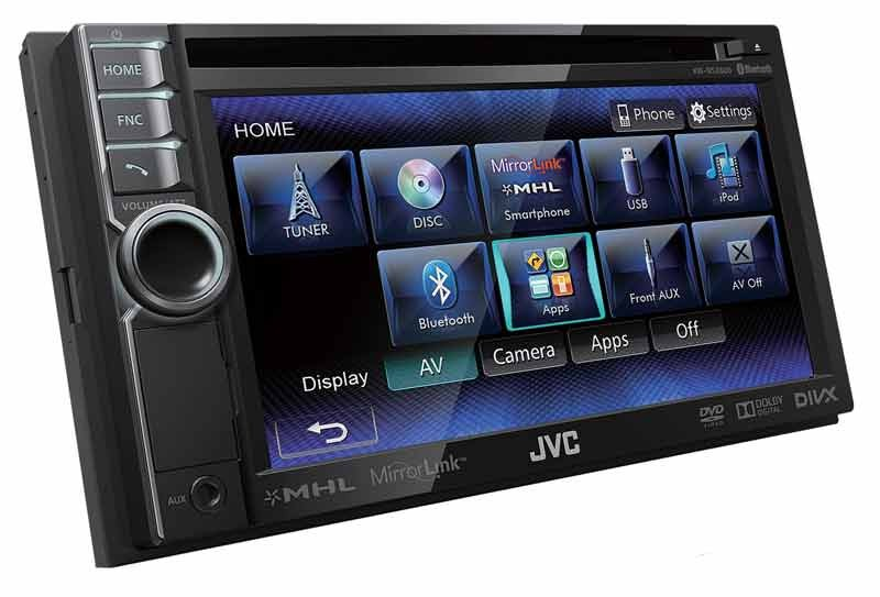 Car-Media Smartphone/AV-Receiver der Spitzenklasse im Doppel-DIN-Format mit MirrorLink-Funktion & MHL-Interface - News, Bild 1
