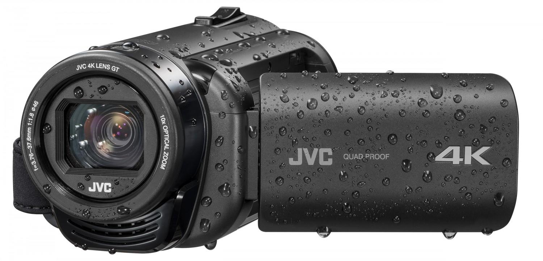 mobile Devices 4K-Auflösung und wasserdichtes Gehäuse: Neuer JVC-Camcorder GZ-RY980 ab sofort verfügbar ab April - News, Bild 1