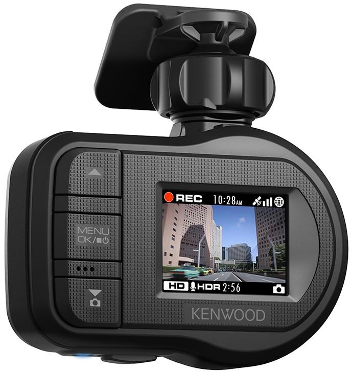 Car-Media HD-Dashcam von Kenwood mit GPS, G-Sensor und 3,8-cm-Farbdisplay - News, Bild 1