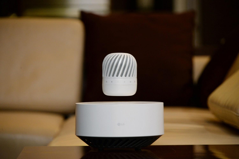 HiFi LG lässt seinen Lautsprecher schweben - Automatisches Landen zum Laden - News, Bild 1