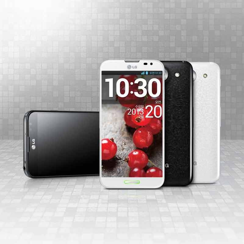 mobile Devices NEUES SMARTPHONE-FLAGGSCHIFF FÜR DEUTSCHLAND: LG E986 OPTIMUS G PRO - News, Bild 1