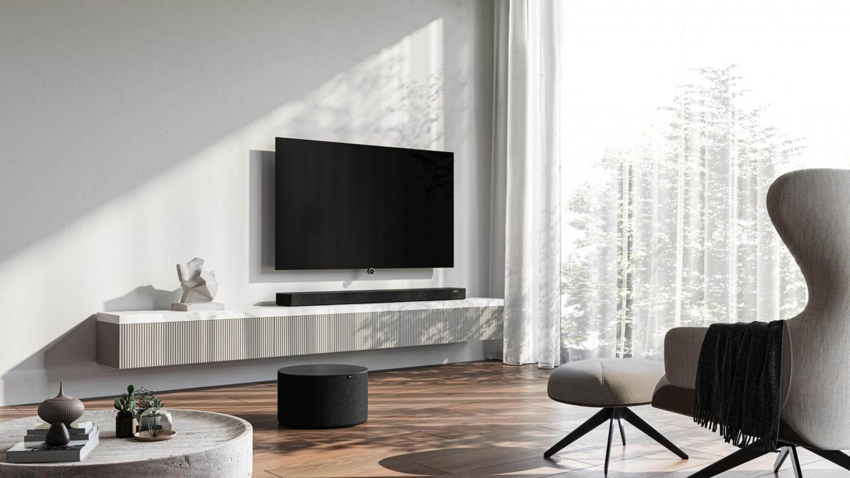 Heimkino Klanggewaltig mit Dolby Atmos - Die neue Soundbar klang bar5 mr von Loewe - News, Bild 1