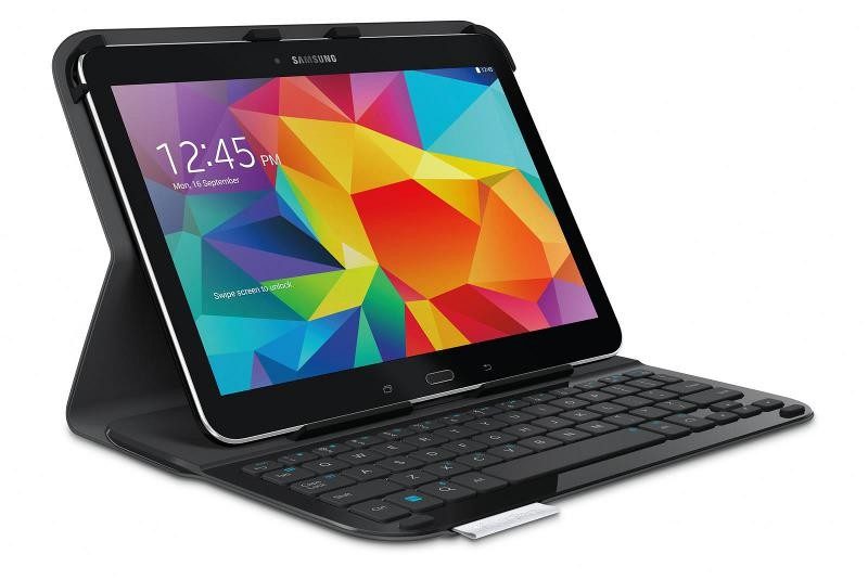mobile Devices Logitech lanciert elegante Tastaturhülle für Samsung Galaxy Tab 4 10.1 - News, Bild 1
