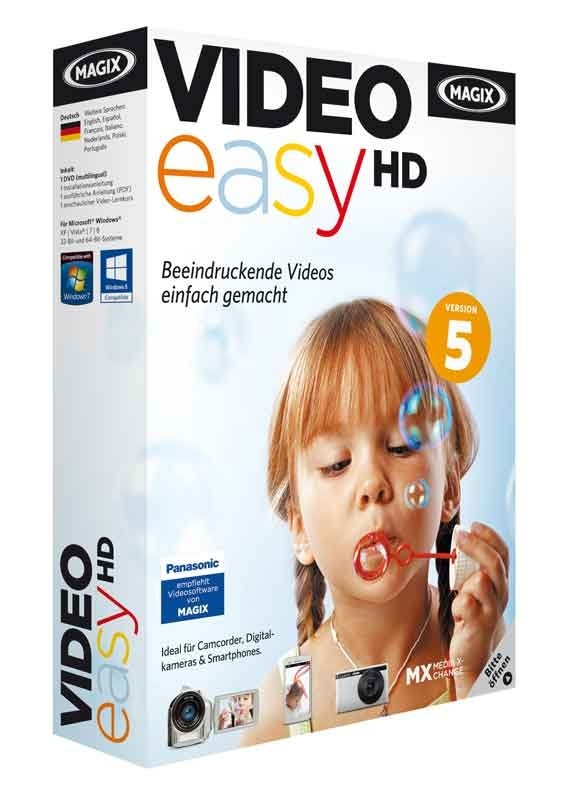 Foto & Cam Neue Version: MAGIX Video easy HD - News, Bild 1