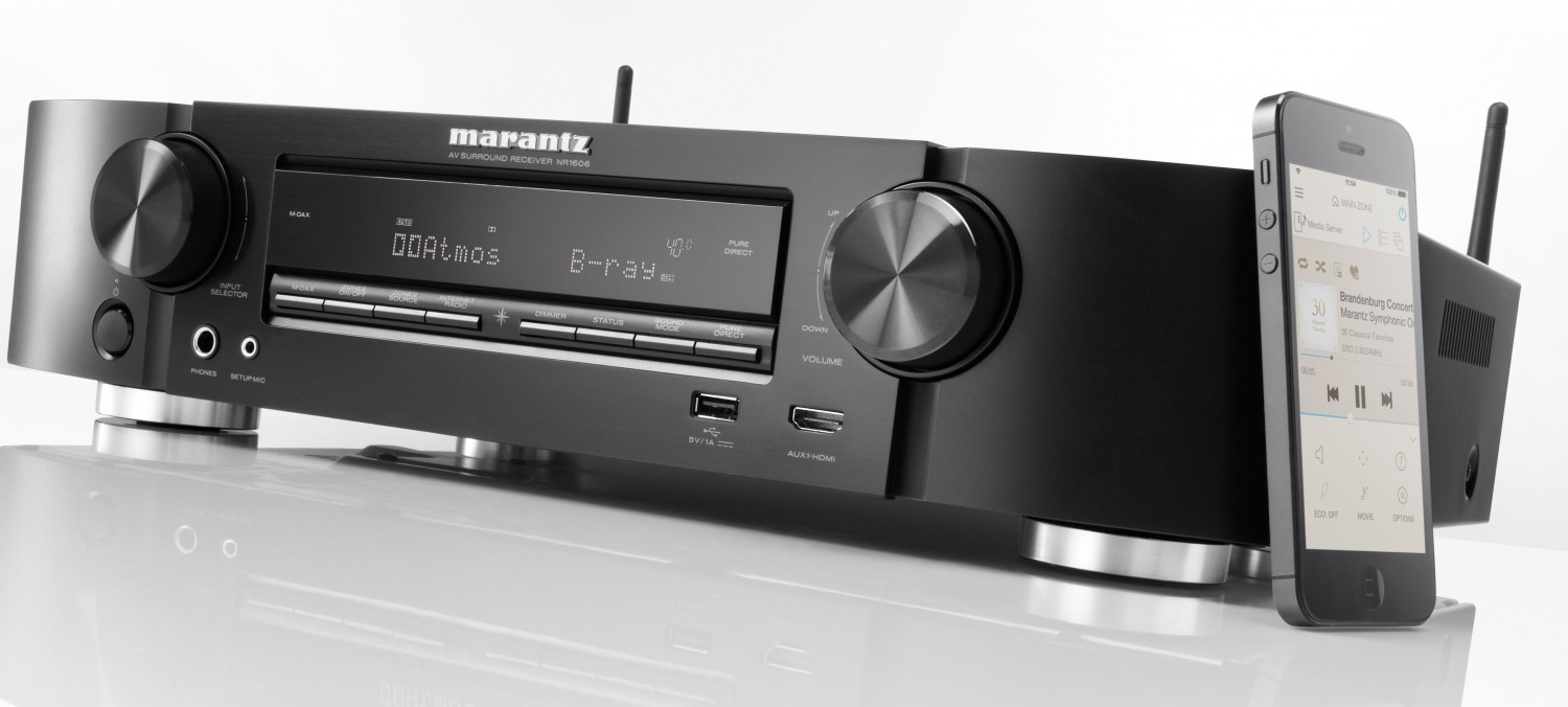 netzwerk av receiver mit wlan bluetooh uhd unterst tzung. Black Bedroom Furniture Sets. Home Design Ideas