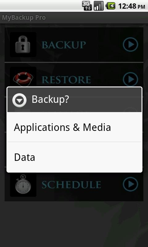 mobile Devices App der Woche – MyBackup Pro - News, Bild 2